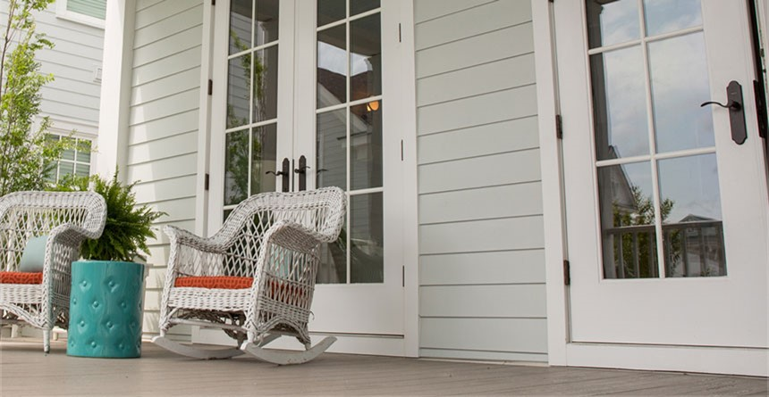 Hardie Board Siding adds grace and style to any home