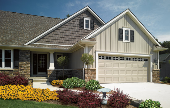 Vinyl siding colors for Vertical siding options