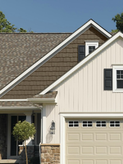 Board and batten siding classic look in long lasting low Vinyl siding vertical