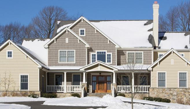 Cedar Shake Vinyl Siding Is Outstanding For Cold Harsh Winter Winds All The Rugged Charm Of But Without High Cost And