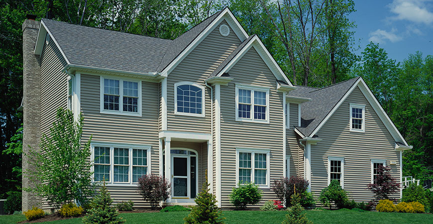 Clapboard siding review the different styles textures Best vinyl windows reviews