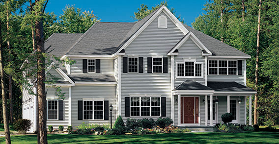 Premium Vinyl Siding  the premier choice for beauty and energy savings.