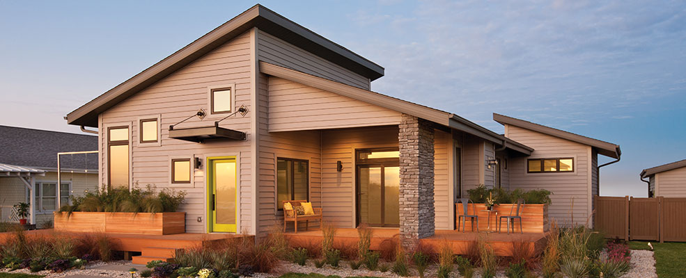 Mastic Lap Siding, Loved for its traditional look.