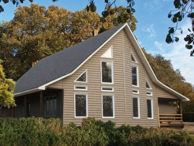More Types Of Vinyl Siding: Log