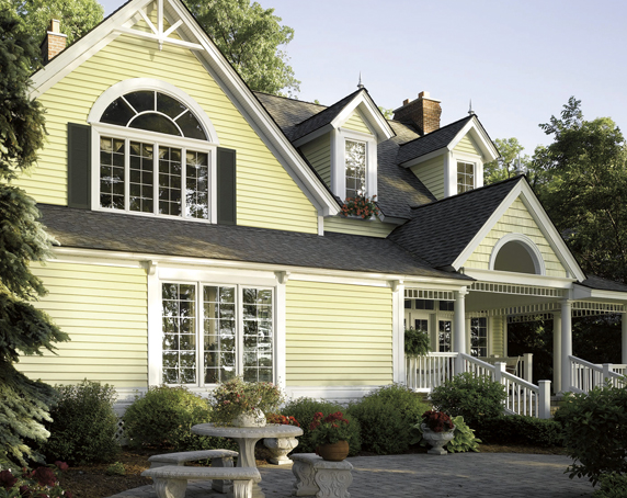 Vinyl Siding Styles, Using Different Profiles, Textures and Colors.