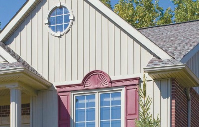 Vinyl Log Siding Board And Batten