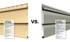 Insulated vinyl siding vs non-insulated vinyl siding